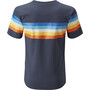 Moon Climbing Retro Stripe T-Shirt Men moon indigo