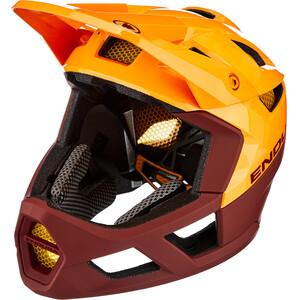 Endura MT500 Full-Face ヘルメット Men マンダリンオレンジ