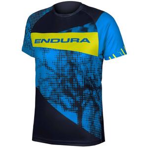 Endura MT500 Kurzarm T-Shirt Kinder azure blue azure blue