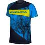 Endura MT500 Kurzarm T-Shirt Kinder azure blue