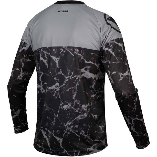 Endura MT500 Marble LTD Langarmshirt Herren black