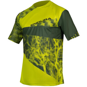 Endura SingleTrack Dots LTD Tech T-Shirt Herren poison green poison green