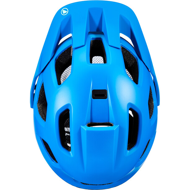 Endura SingleTrack II Casque Homme, bleu