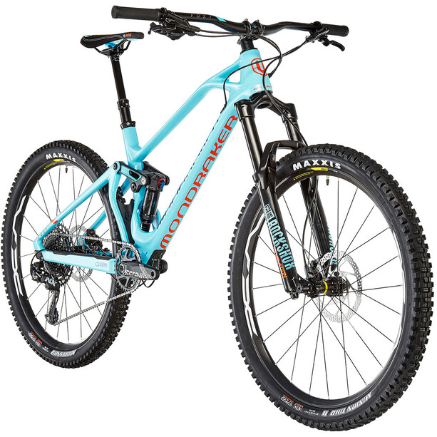 Mondraker Foxy Carbon R 27.5 2. Wahl light blue/navy/orange