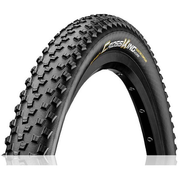 "Continental Cross King RaceSport Faltreifen 27.5x2.20"" black/amber"