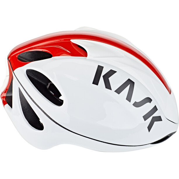Kask Infinity Helm white/red