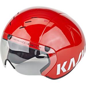 Kask Bambino Pro ヘルメット(バイザー付) レッド