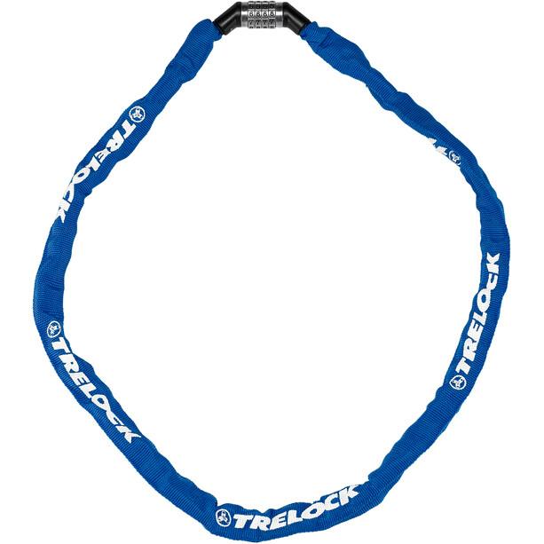 Trelock BC 115 Code Kettenschloss blau