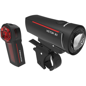 Trelock LS 300 I-GO Vector 30/LS 740 Vector Beleuchtungsset