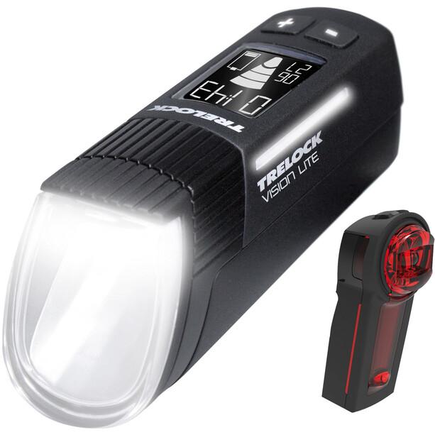 Trelock LS 660 I-GO Vision Lite/LS 740 Vector Signal Beleuchtungsset