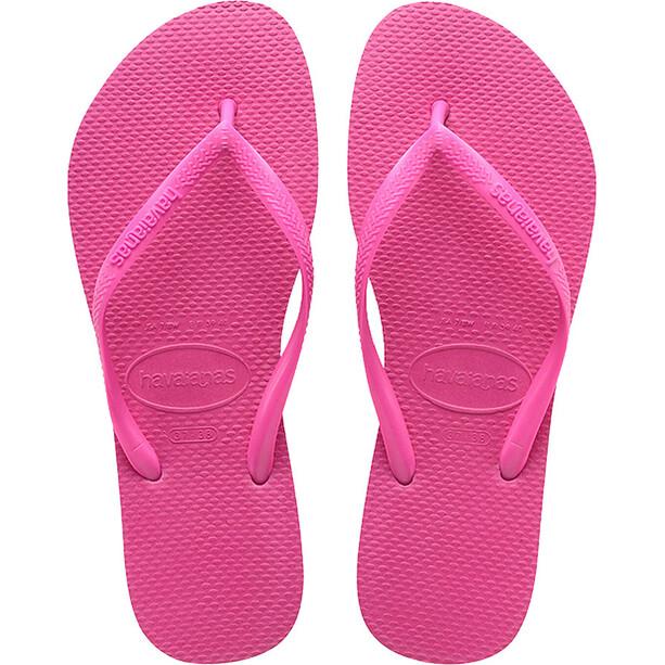 havaianas Slim Sandalen Dames, roze