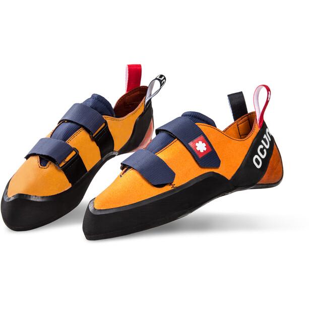 Ocun Crest QC Kletterschuhe orange/schwarz