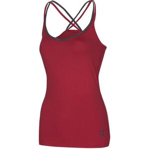 Ocun Corona Koszulka rowerowa Kobiety, czerwony czerwony