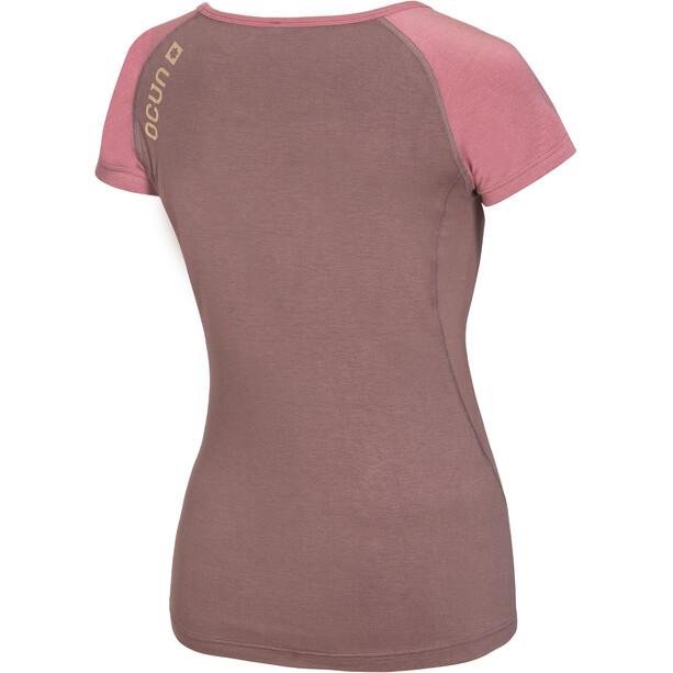Ocun Bamboo T Blossom T-Shirt Damen antler