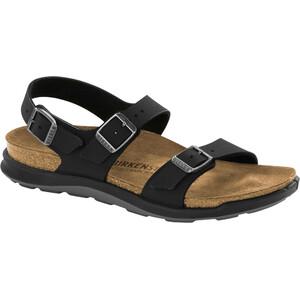 Birkenstock Sonora Sandals Birko-Flor Nubuk Narrow Women, noir/marron noir/marron