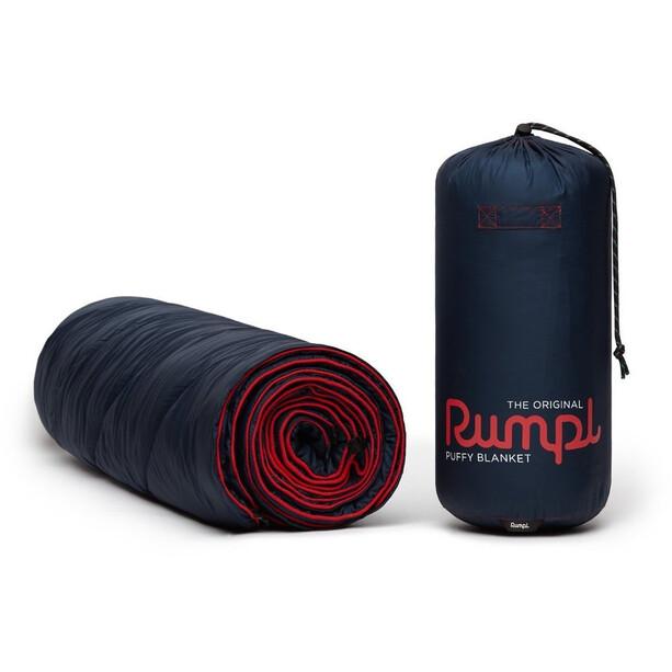 Rumpl Original Puffy Solid Decke 1 Person blau