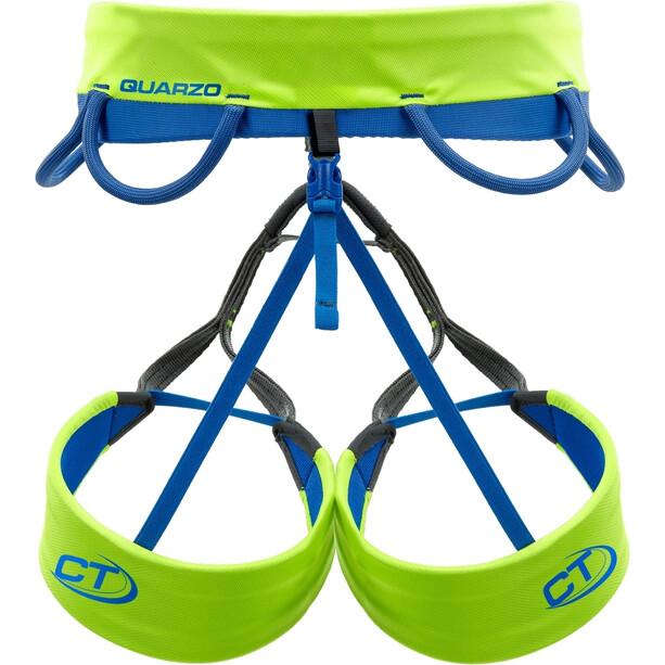 Climbing Technology Quarzo Klettergurt XL green7blue