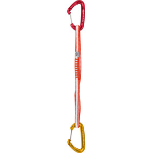Climbing Technology Fly-Weight Evo Alpine Set DY Sling 60cm red/gold red/gold