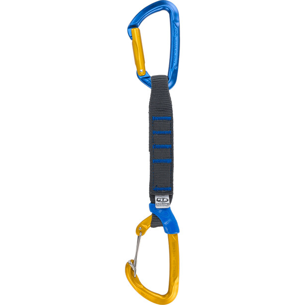 Climbing Technology Berry Pro Tapered Quickdraws NY Sling 12cm blue/ocra
