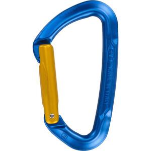 Climbing Technology Berry Carabiner S Carabiner blue/ocra blue/ocra