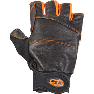 Climbing Technology Progrip Ferrata Half Finger Gloves black black