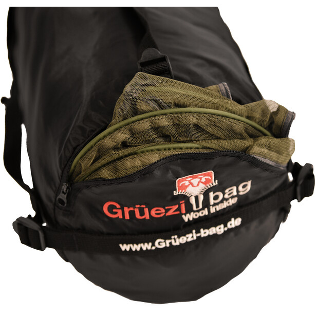 Grüezi-Bag Biopod Wool Survival Schlafsack greenery
