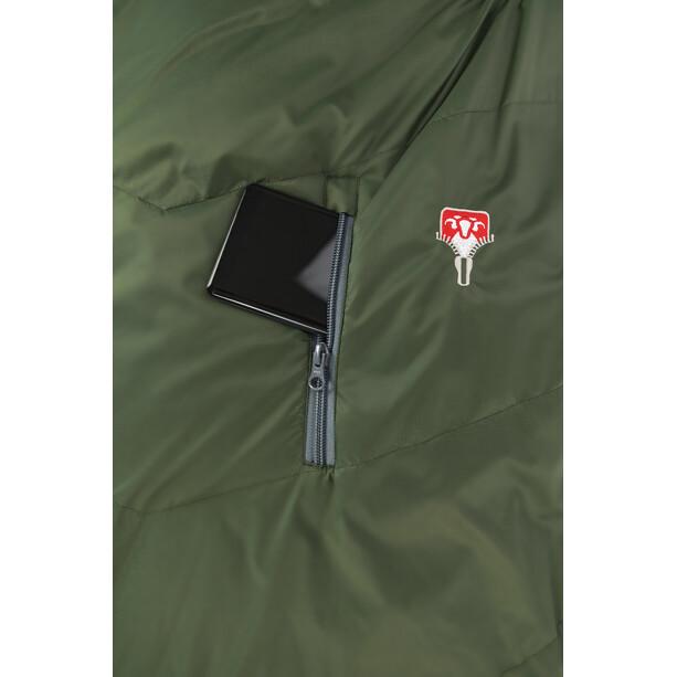 Grüezi-Bag Biopod Wool Survival Sac de couchage, greenery