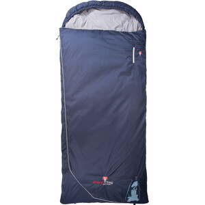 Grüezi-Bag Biopod Wolle Marmot Comfort Schlafsack night blue night blue