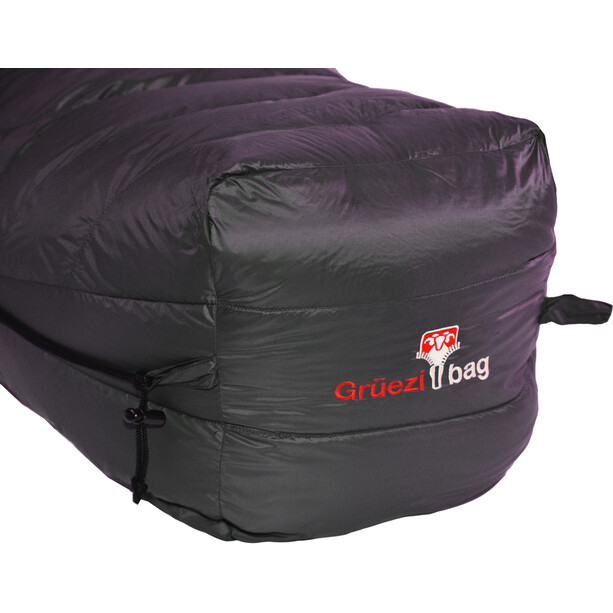 Grüezi-Bag Biopod Down Hybrid Ice Extreme 190 Schlafsack Wide deep forest