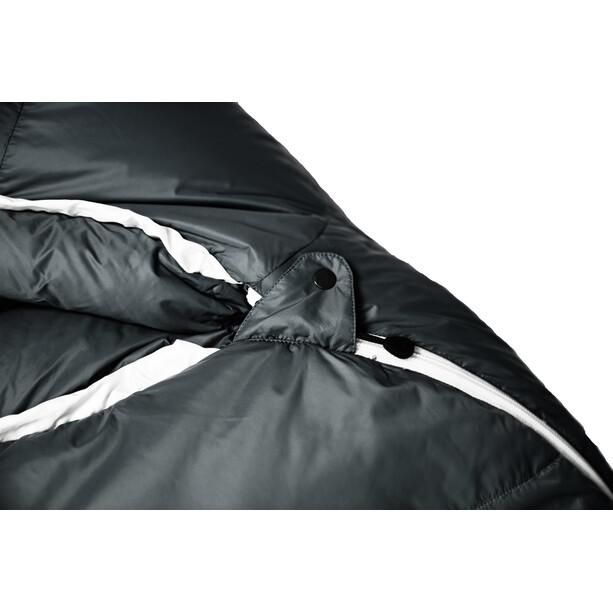 Grüezi-Bag Biopod Down Hybrid Ice Extreme 190 Sleeping Bag Wide svart