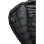Grüezi-Bag Biopod Down Hybrid Ice Extreme 200 Schlafsack Wide schwarz
