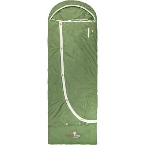 Grüezi-Bag Biopod DownWool Nature Comfort Sac de couchage, vert vert