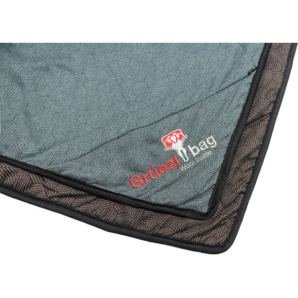 Grüezi-Bag WellhealthBlanket Wool Home grün/braun