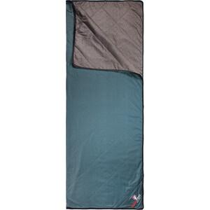 Grüezi-Bag WellhealthBlanket Wool Home Schlafsack chocolate/smoky blue chocolate/smoky blue