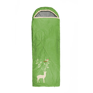 Grüezi-Bag Cloud Blanket Deer IV Schlafsack spring green spring green