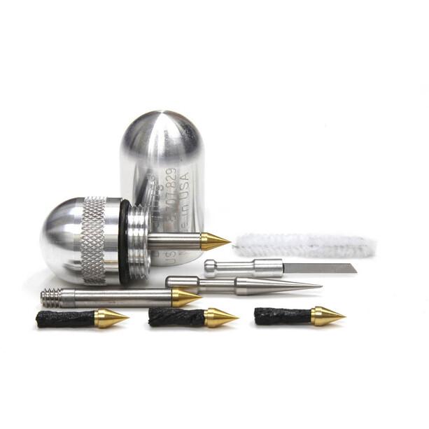 Dynaplug Micro Pro Reperationssæt til slangeløse dæk, sølv