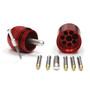 Dynaplug Megapill Reparatur Kit für Tubeless Reifen red