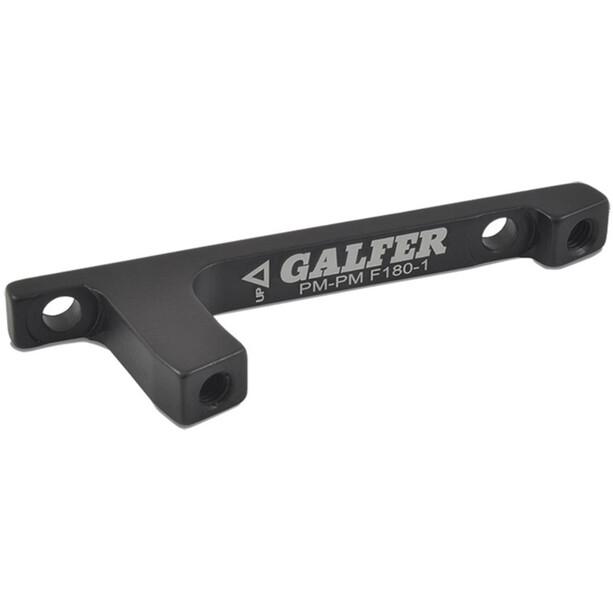 GALFER BIKE Scheibenbremssatteladapter PM/PM 20/23mm black