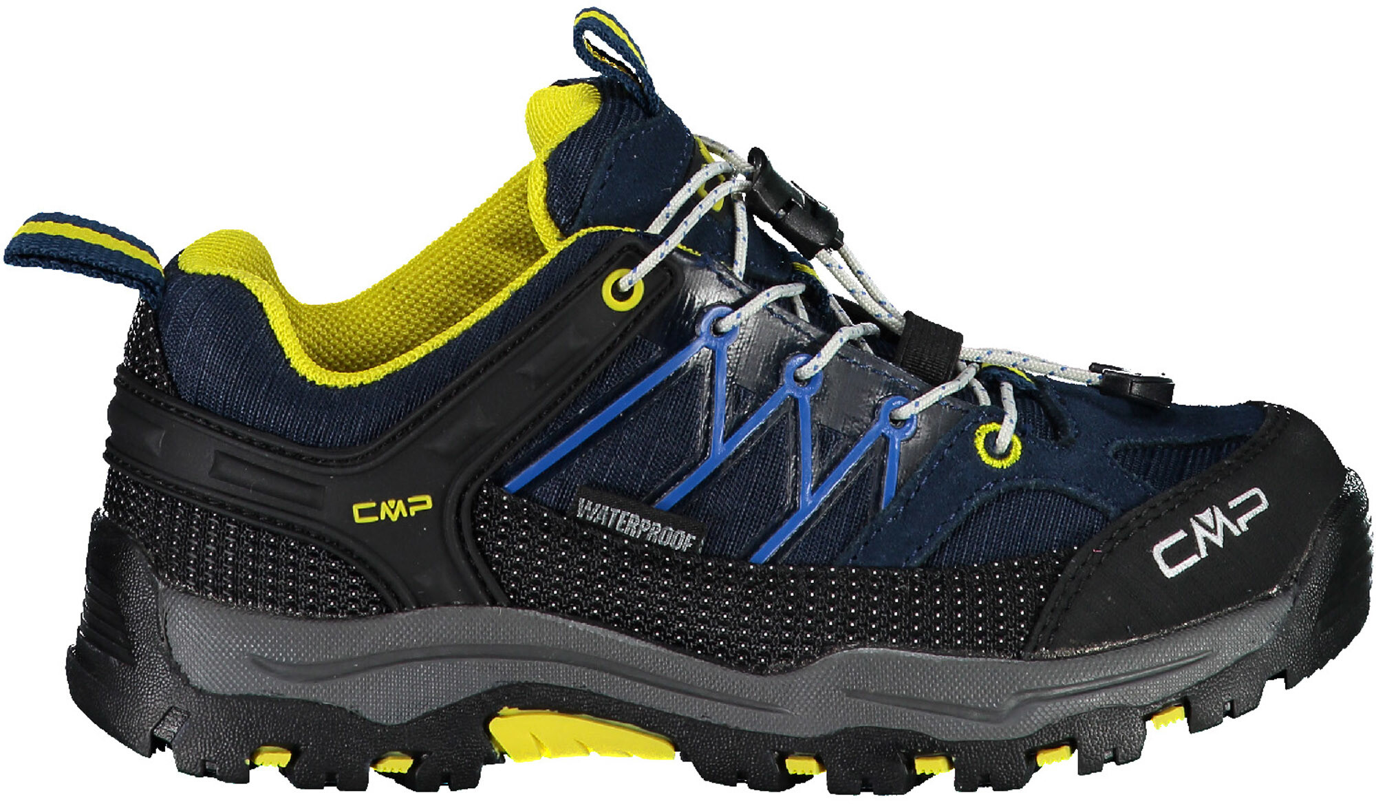 Salming Trail 5 Shoe Men Navy Yellow Laufschuhe Trailschuhe Blau Gelb