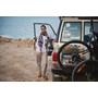 Sherpa Kiran Cropped Pantalon Femme, goa sand