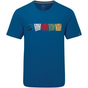 Sherpa Tarcho T-paita Miehet, sininen sininen