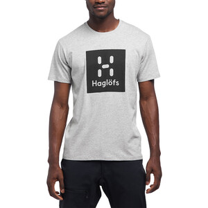 Haglöfs Camp T-Shirt Herren grey melange/true black grey melange/true black