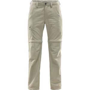 Haglöfs Lite Pantalon convertible par zip Femme, beige beige