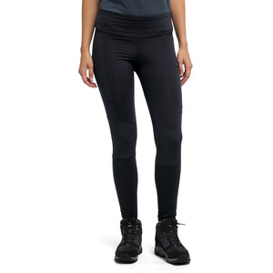 Haglöfs Fjell Hybrid Tights Damen true black true black