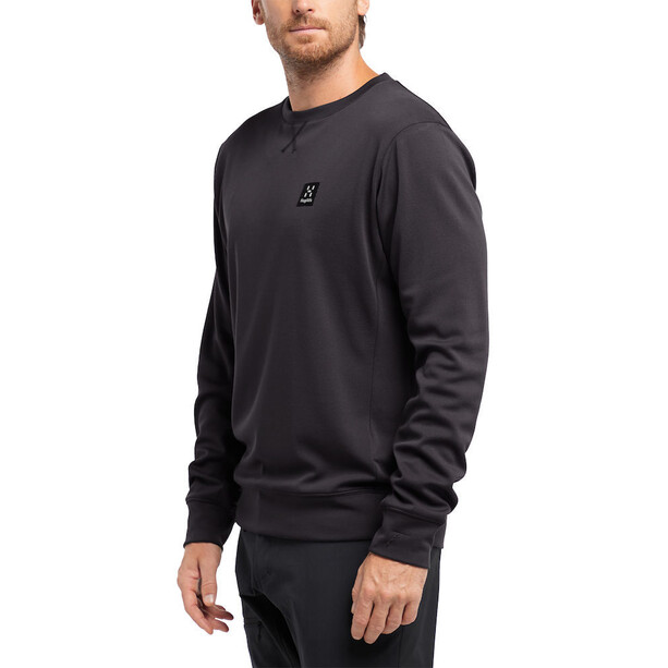 Haglöfs H Rundhals Sweater Herren true black