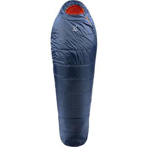 Haglöfs Tarius +1 Schlafsack 205cm blau blau