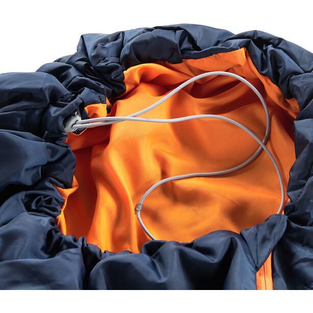Haglöfs Tarius +6 Schlafsack 205cm midnight blue/tangerine