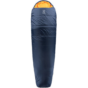 Haglöfs Tarius +6 Schlafsack 205cm midnight blue/tangerine midnight blue/tangerine