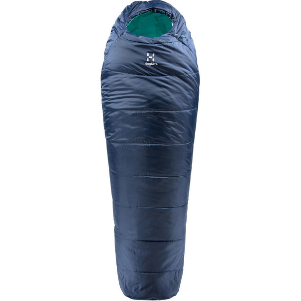 Haglöfs Musca -13 Schlafsack 175cm midnight blue/mint