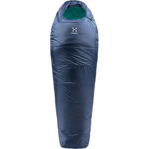 Haglöfs Musca -5 Schlafsack 175cm blau blau